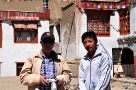 Chachaji and Ajay Lama