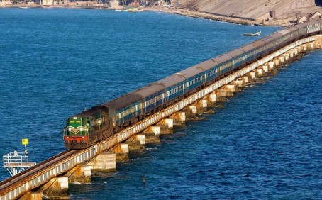 Pamban railway bridge