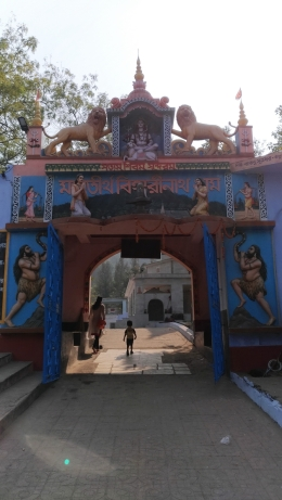 বিহারীনাথ মন্দিরের দ্বার
